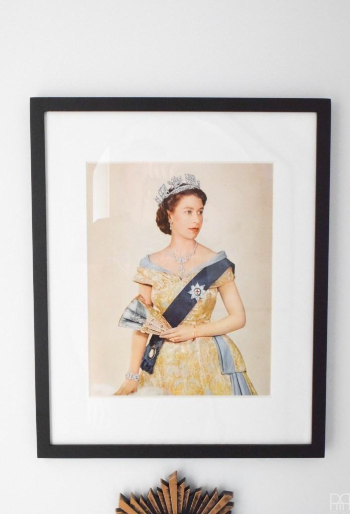 queen elizabeth art