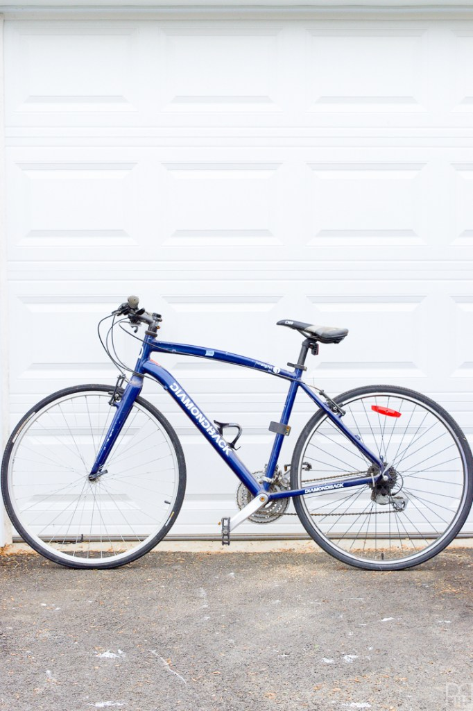 His DIY Spray Paint Bicycle Makeover • PMQ for two