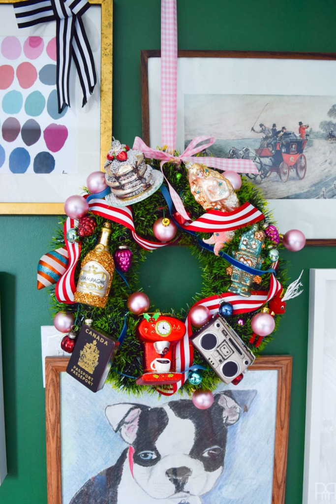 His & Hers Christmas Wreaths