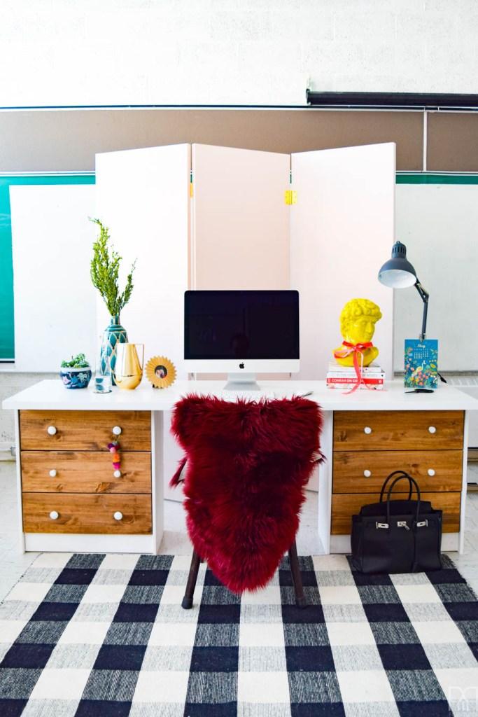 IKEA RAST Desk Hack with Minwax