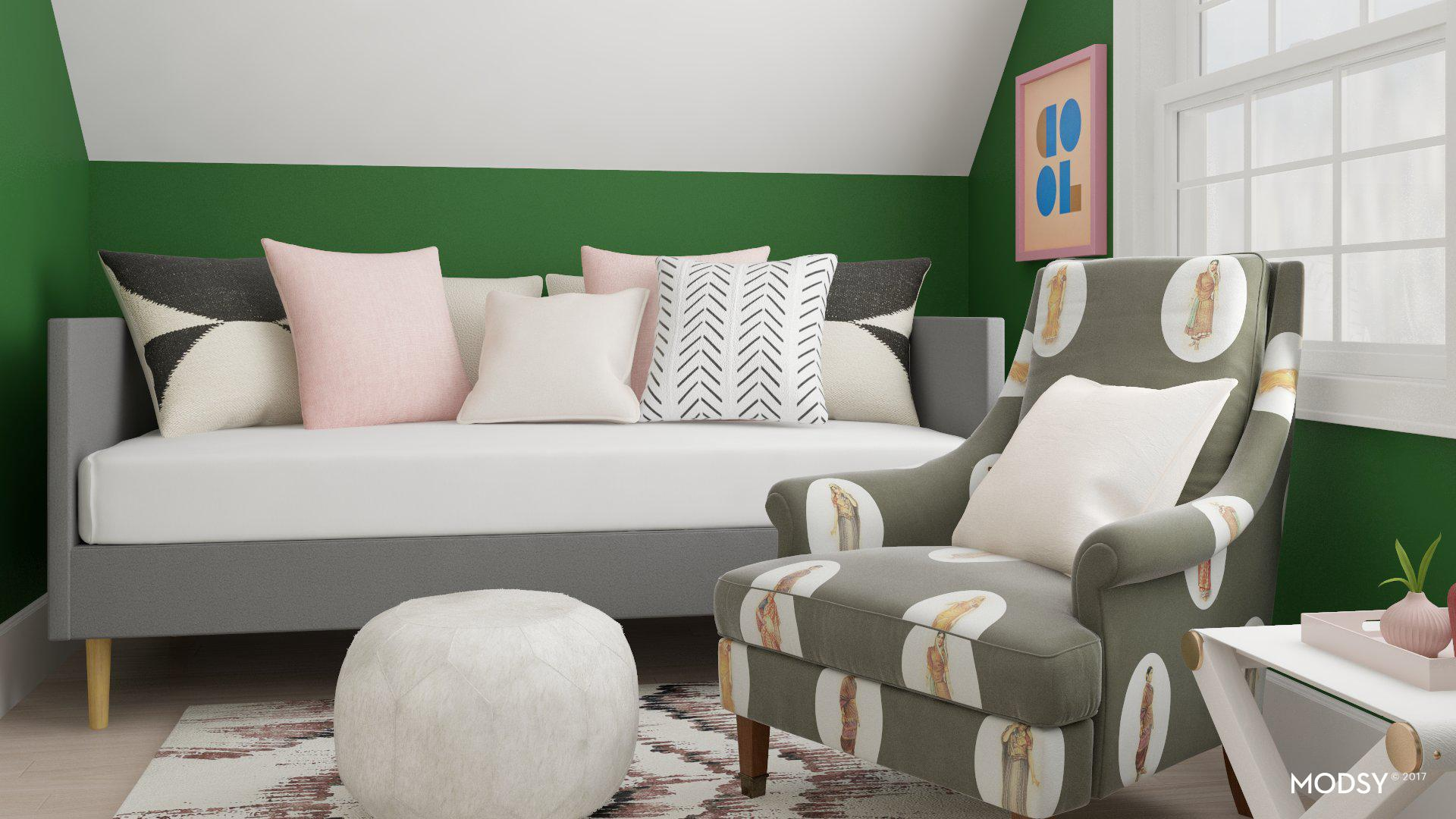 Ever seen room renderings so life like that you can immediately picture your life inside that space?! Well, with our guest room makeover I've been planning with Modsy and cannot wait to see the space come to life.
