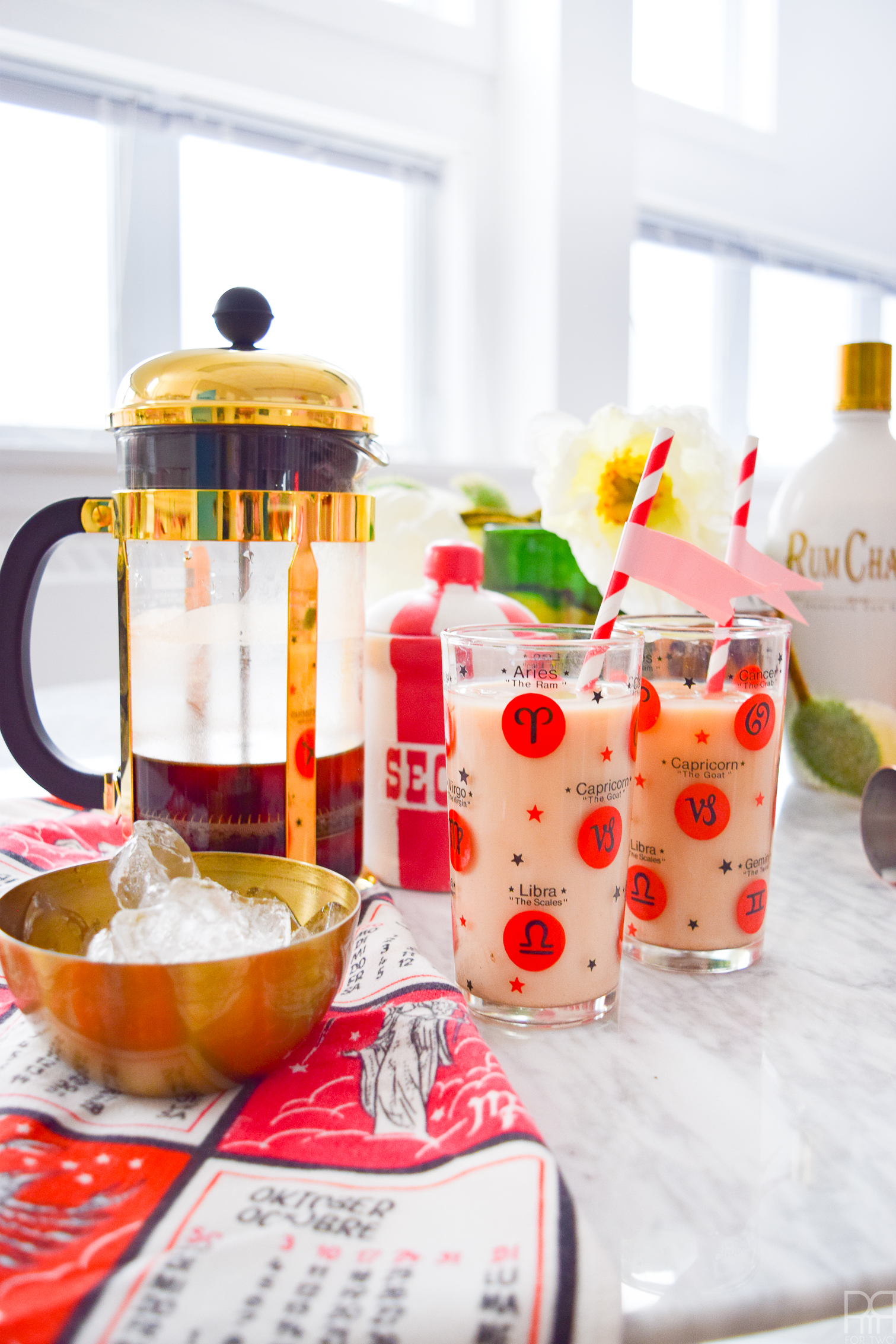 Make a Cinnamon French Toast Coffee Cocktail for your next brunch of weekend gathering. They're the perfect alternative to mimosas, and are a nice treat for afternoons when you want to unwind. Don't forget your cinnamon whisky or rum chata though! oh! and the cold brew coffee