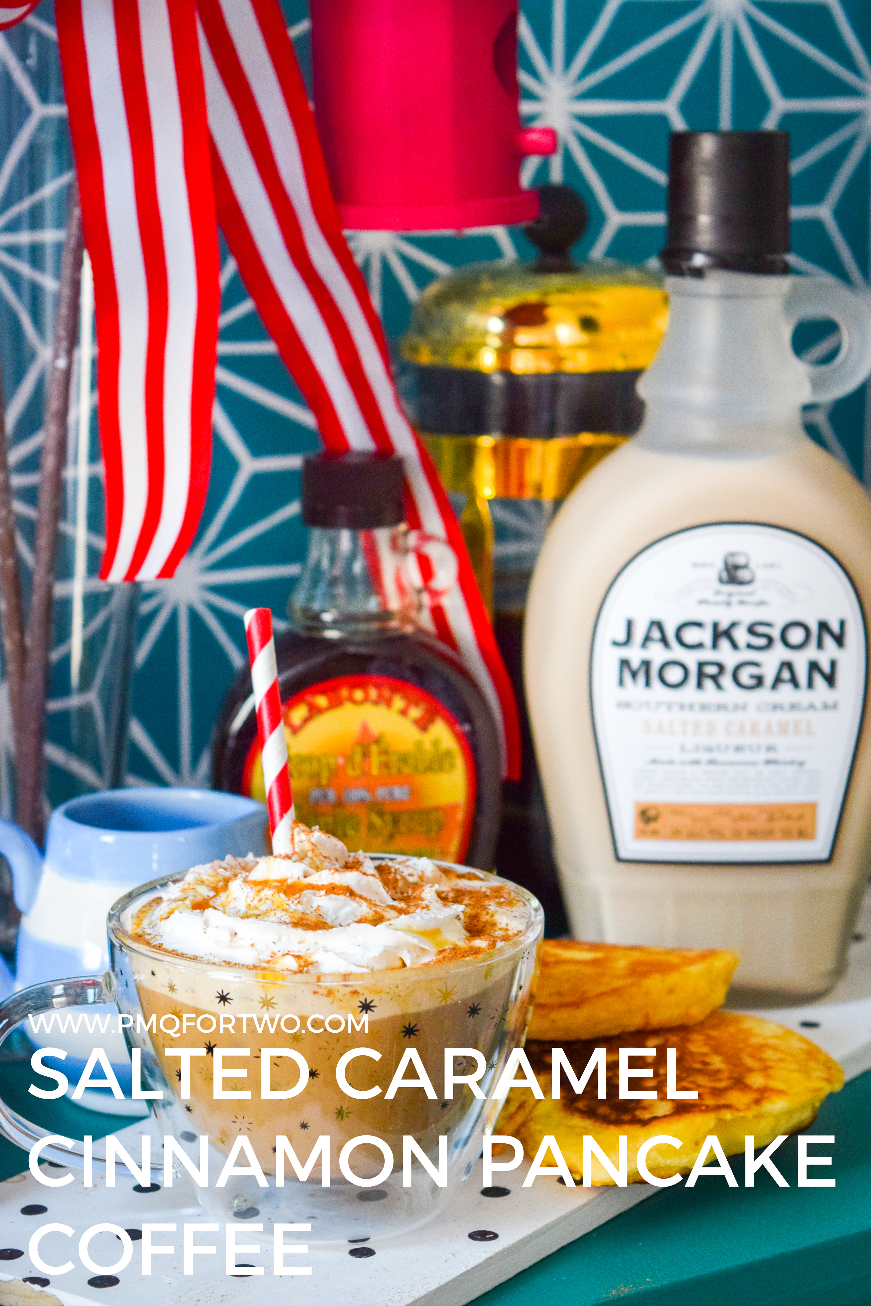 Winter weekend brunches are fab and all, but so is a spiked coffee. And because January feels like it can drag on into March (longest month of the year anyone?) I figured a Salted Caramel Cinnamon Pancake Coffee was in order. #jacksonmorgan #saltedcaramel