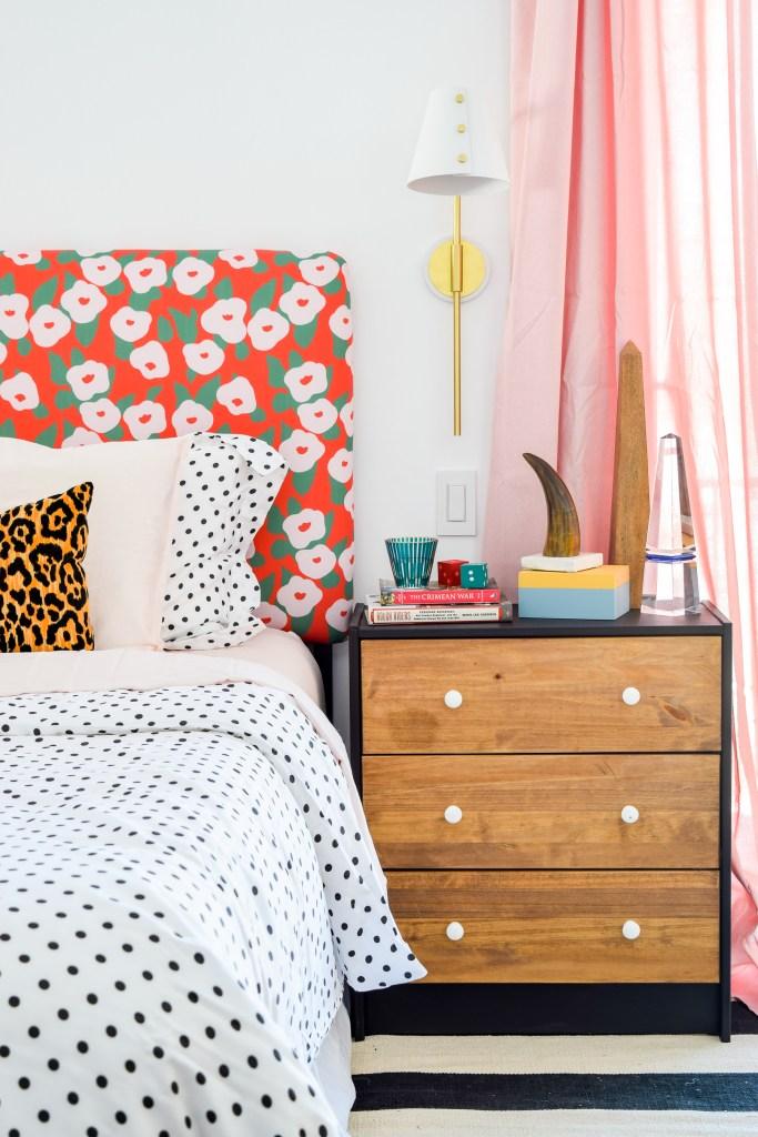 Floral Glam Master Bedroom + Closet