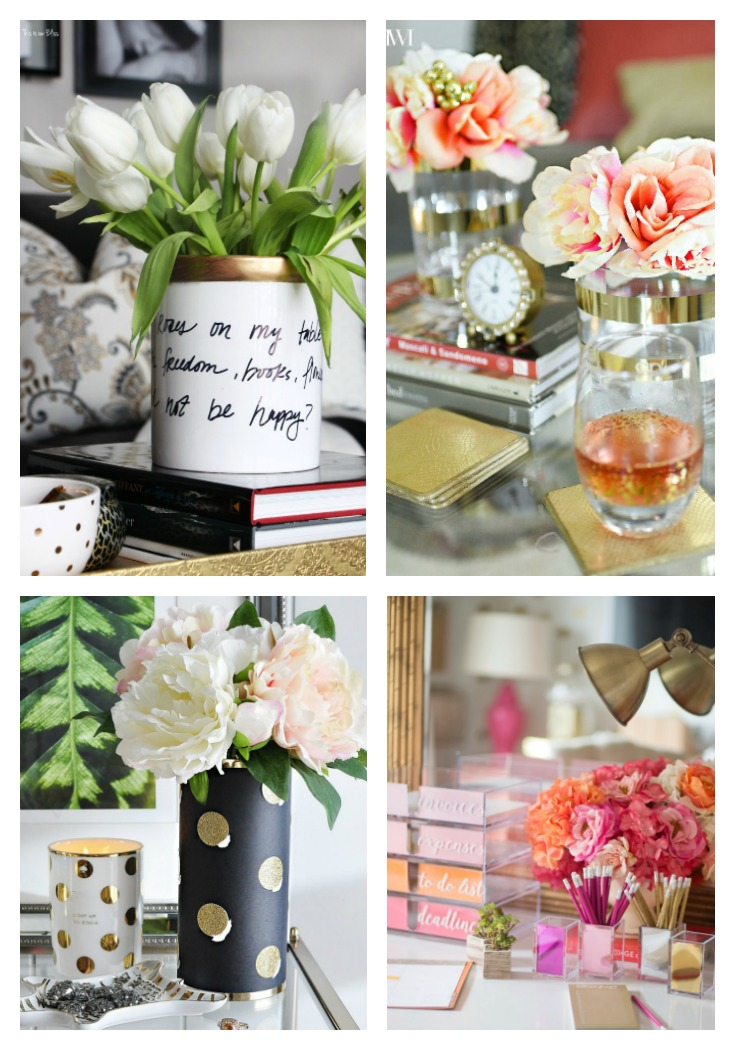 DIY Vases Inspired By Kate Spade PMQ For Two