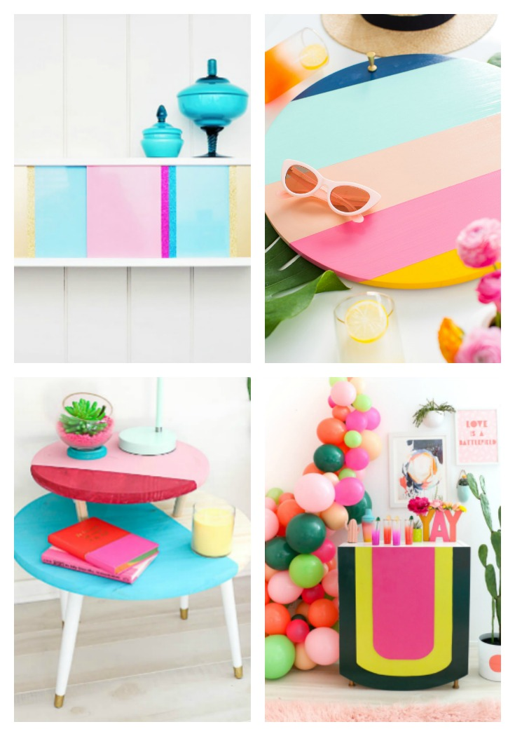 Color Blocked Furniture