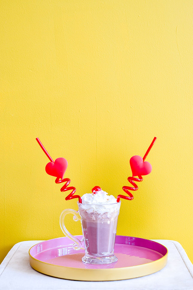 Whiskey Peppermint Mocha Milkshake by PMQ for two
