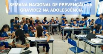SEMANA DE PREVENÇÃO DA GRAVIDEZ NA ADOLESCÊNCIA