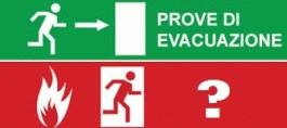 prova di evacuazione