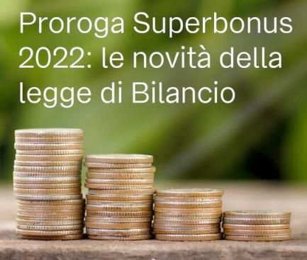 Proroga superbonus 2022