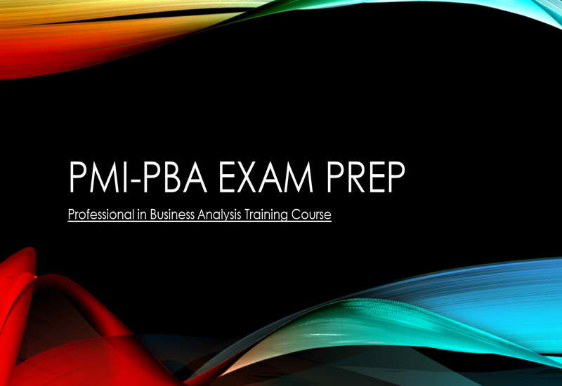 PMI-PBA Professional in Business Analysis Training Course