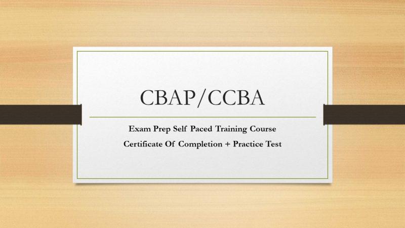 CBAP & CCBA Training course