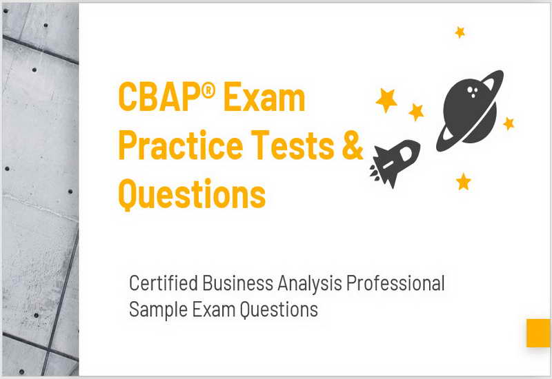 CBAP Exam Practice Tests & Questions