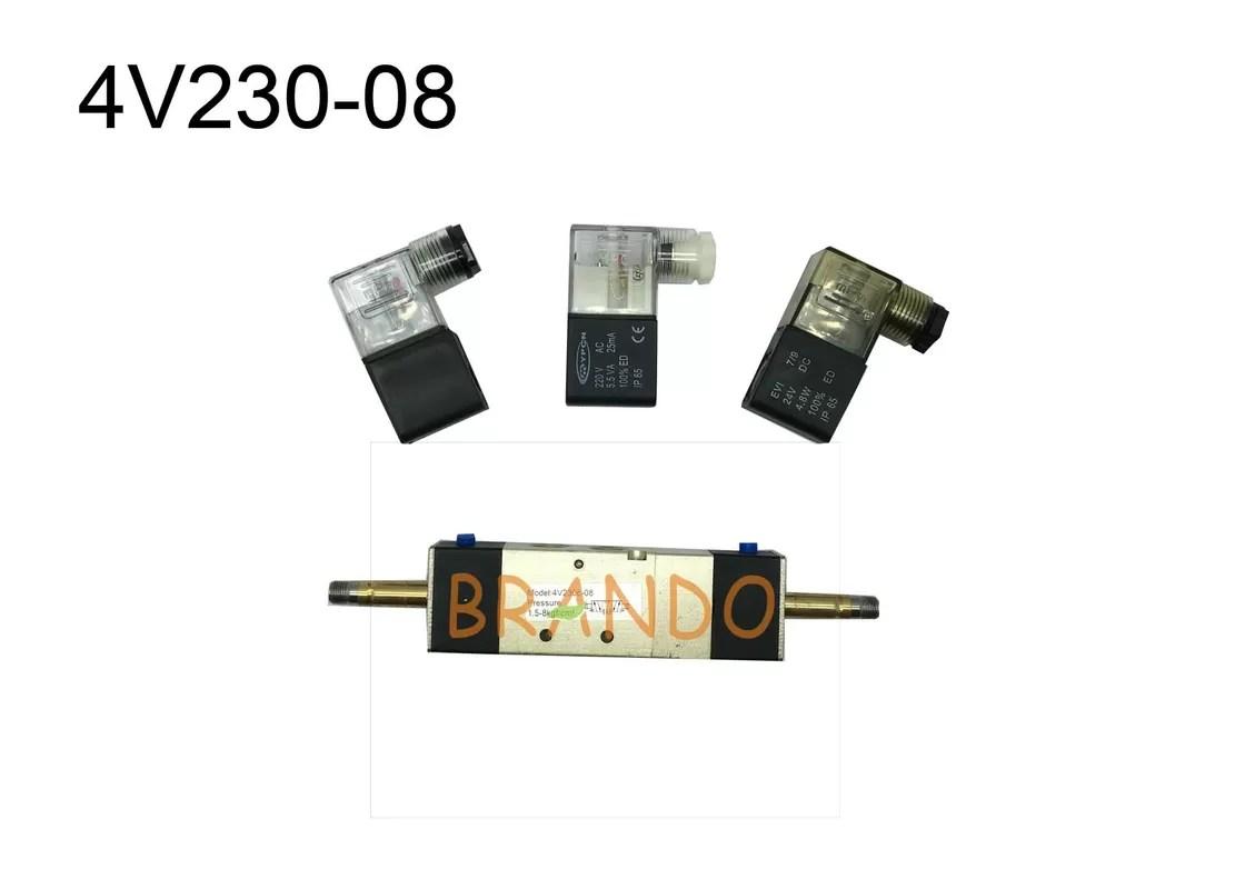 4v230 08 Pt 1 4 5 3 Electrical Pneumatic Solenoid Valve