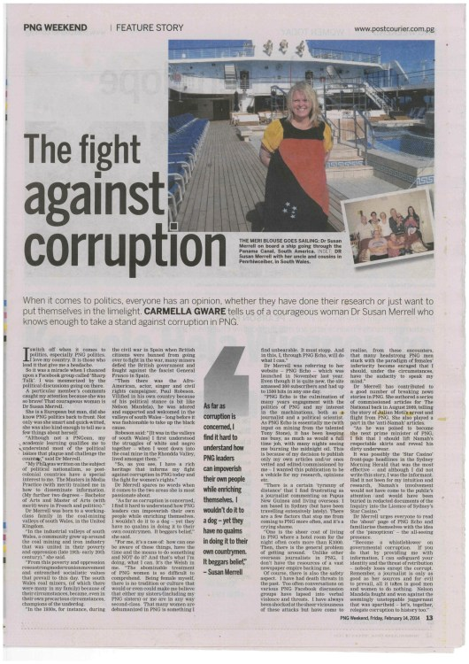 Post Courier Profile