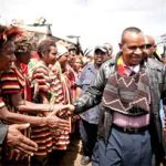 Namah on the campaign trail his bilum stuffed with K50 million
