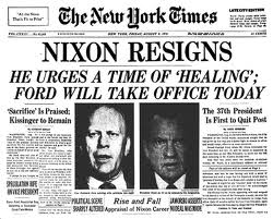 The Watergate Affair, uncovered by investigative journalists