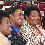 The current three female MPs. in PNG parliament.
