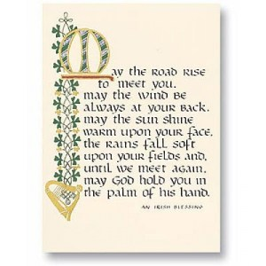 An Irish blessing from PNG Echo to all my readers in Papua new Guinea.