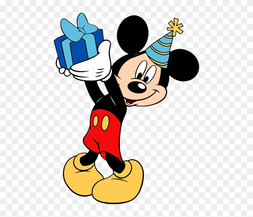 Disney Birthdays And Parties Clip Art Disney Clip Art Mickey Mouse Birthday Clipart Png Transparent Png 490x642 1134009 Pngfind