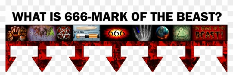 Picture - 666 The Mark Of The Beast, HD Png Download - 1143x317(#1277698) -  PngFind