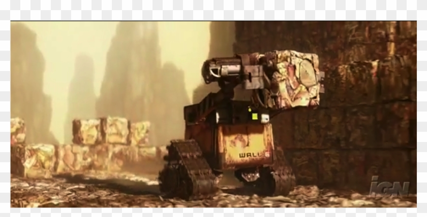 Wall E Carries Garbage To Pile Wall E Minecraft Meme Hd Png