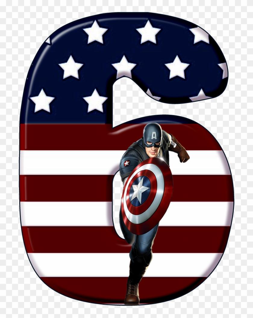 bday invitation card captain america