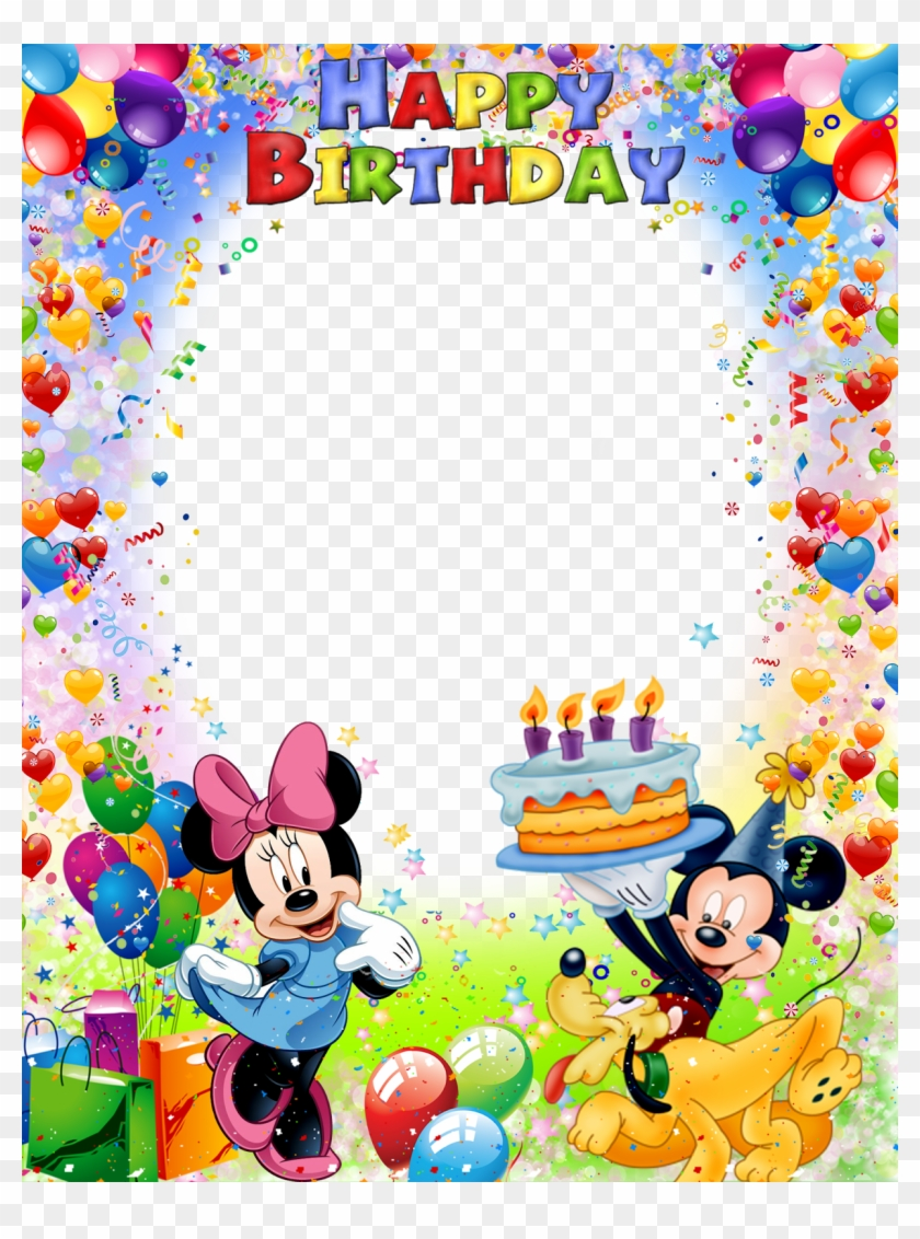 Mickey Mouse Birthday Birthday Images Birthday Pictures Hd Png Download 1230x1600 1750814 Pngfind