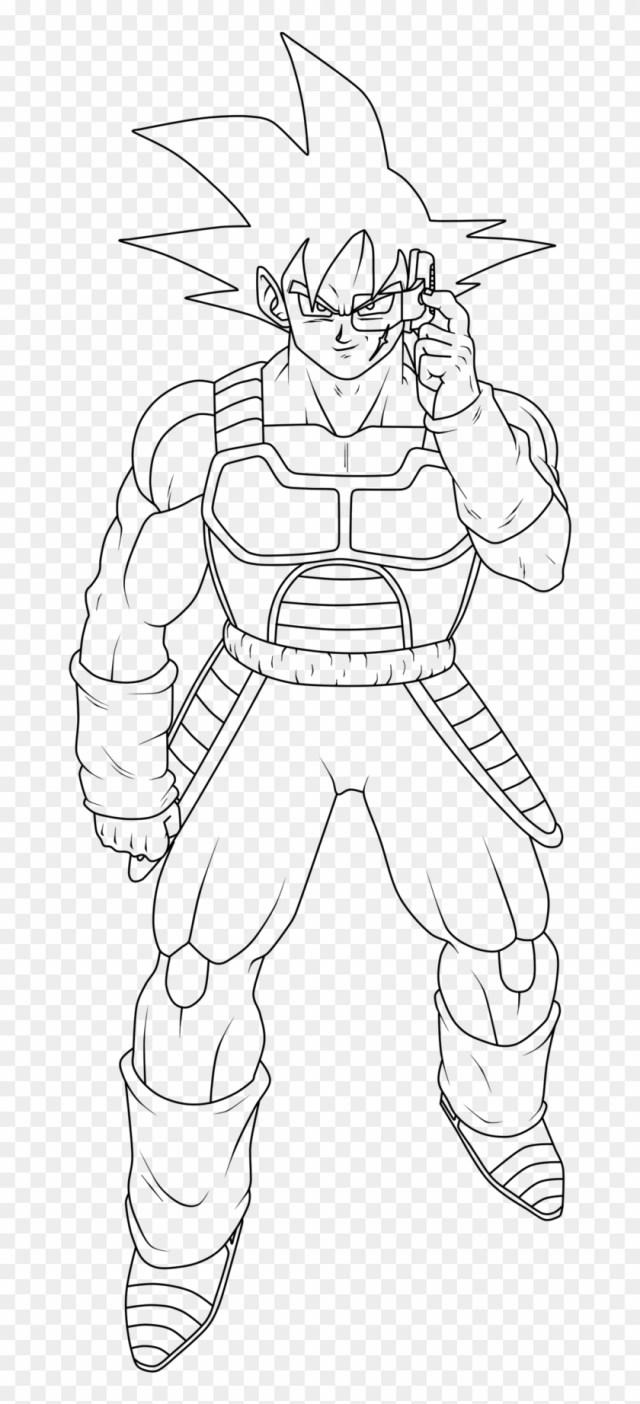 Dragon Ball Z Coloring Pages Goku Kamehameha With Dragon - Bardock