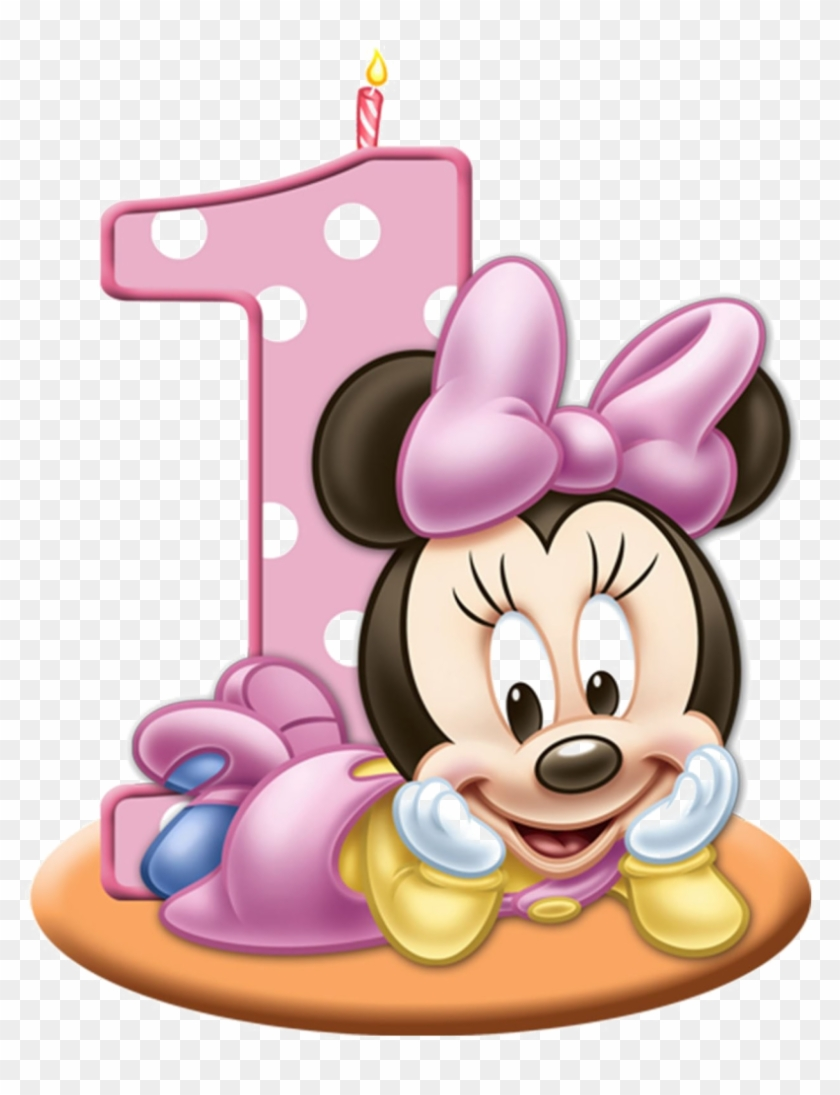 1st Birthday Transparent Images Baby Minnie Mouse Png Png Download 1024x1024 2113605 Pngfind
