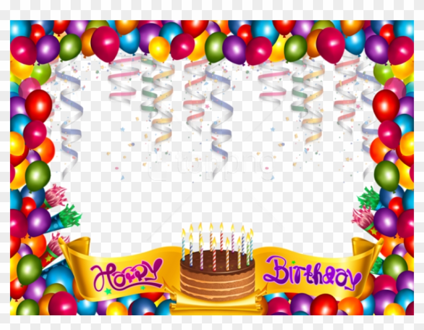 Free Png Cute Happy Birthday Frame Background Best Happy Birthday Frame Png Transparent Png 850x621 2127759 Pngfind