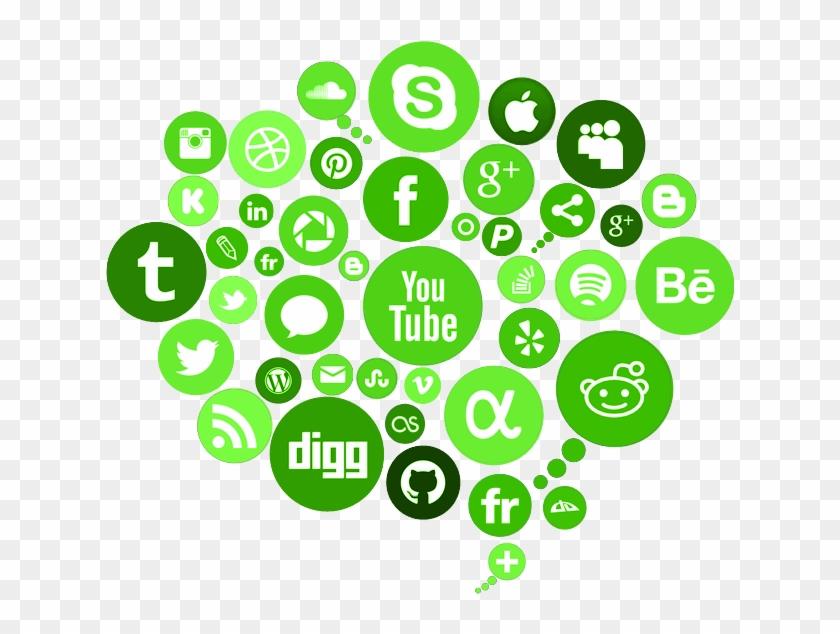 Digital Marketing Social Media Logo Cloud Hd Png Download 675x578 249492 Pngfind
