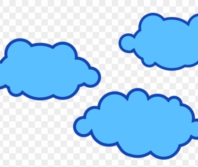 Awan Biru Vecto Gambar Awan Biru Animasi Hd Png Download