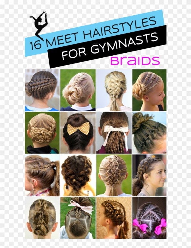gymnastics hairstyles for competition braids edition