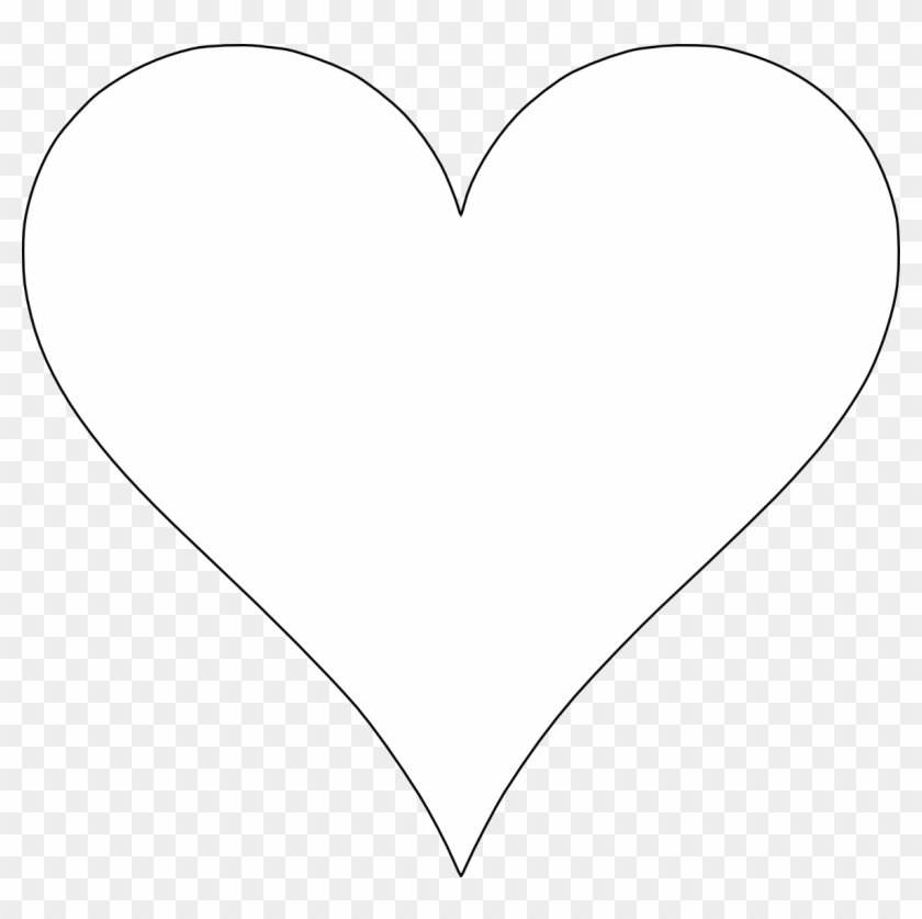 These Free Printable Heart Shape Templates Are Available Heart Hd Png Download 640x608 53556 Pngfind