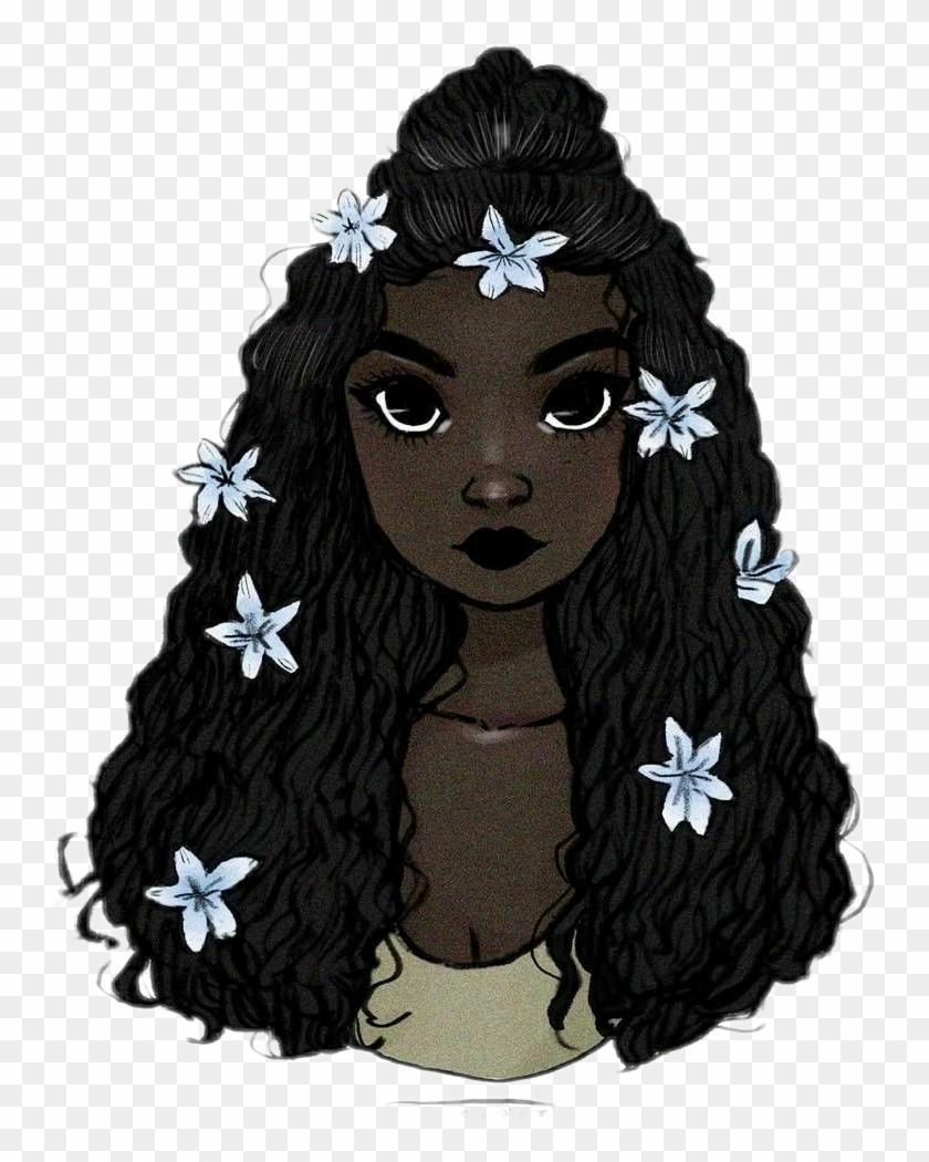 35 Trends For Curly Hair Cartoon Black Girl Drawing Cine Regard