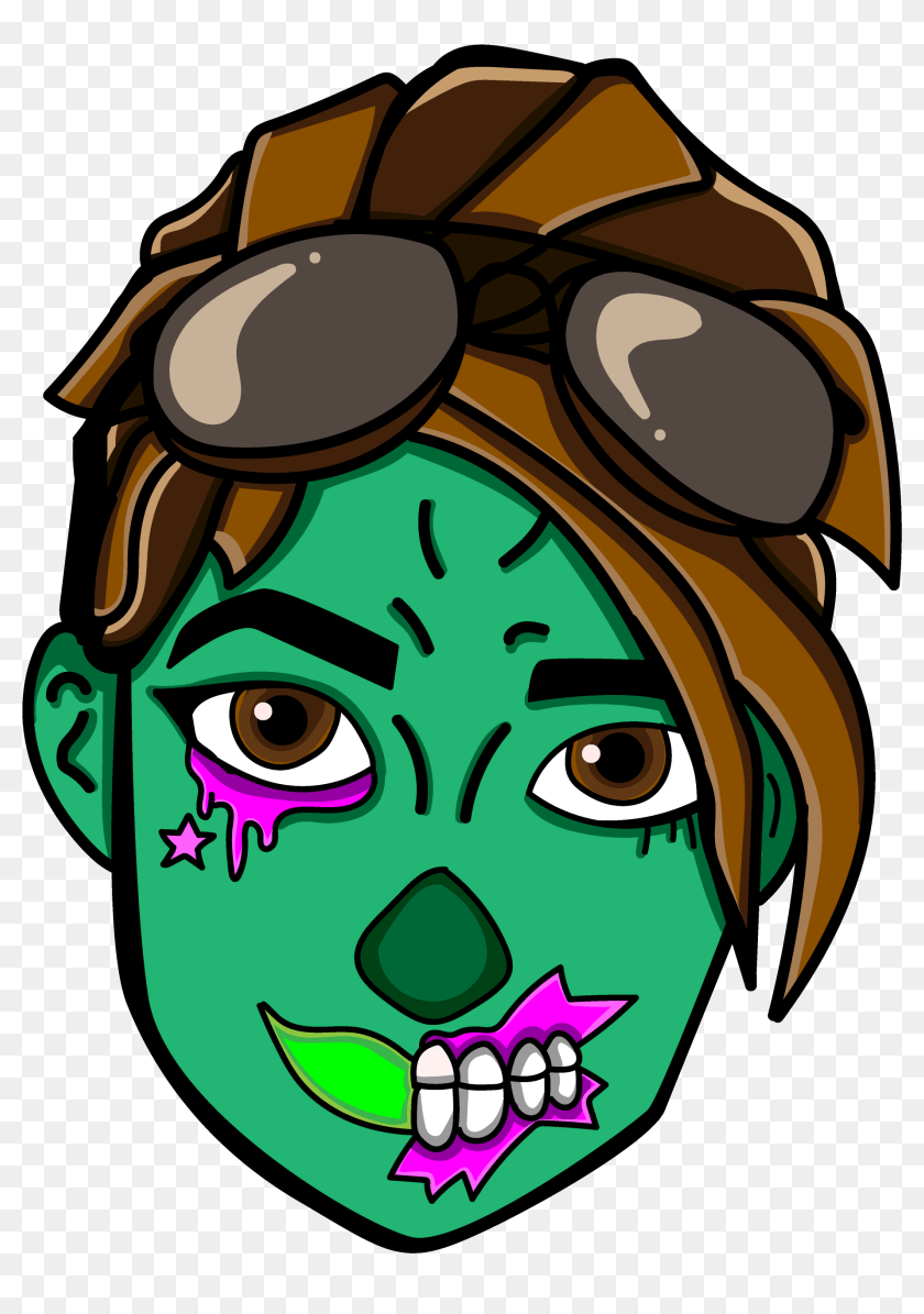 Fortnite Ghoul Trooper Drawing Hd Png Download 4000x4000 6764424 Pngfind