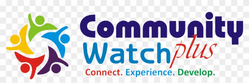 Community Watch Plus Electric Blue Hd Png Download