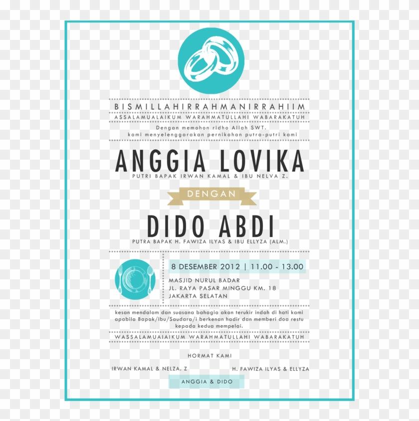 Konsep Undangan Pernikahan Indonesia A Wedding Invitation Contoh