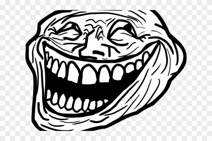 Trollface Clipart Transparent Png Omega Troll Face Png Download