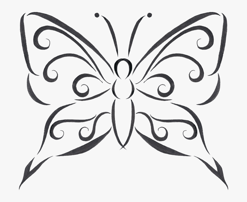 Clip Art Designs Transparent Png All Butterfly Tattoo Design Drawings Png Download Transparent Png Image Pngitem