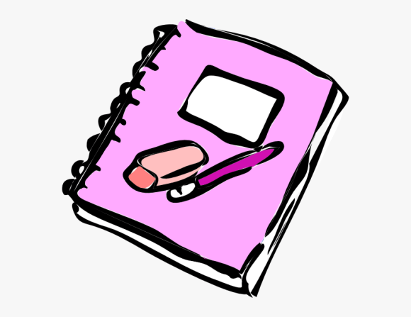 Cute Notepad Cliparts Ballpen And Notebook Clipart Hd Png Download Transparent Png Image Pngitem
