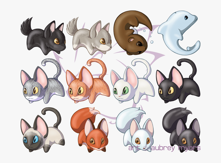 Cute Animals Anime Animals Animal Manga Cute Animals Drawings Hd Png Download Transparent Png Image Pngitem