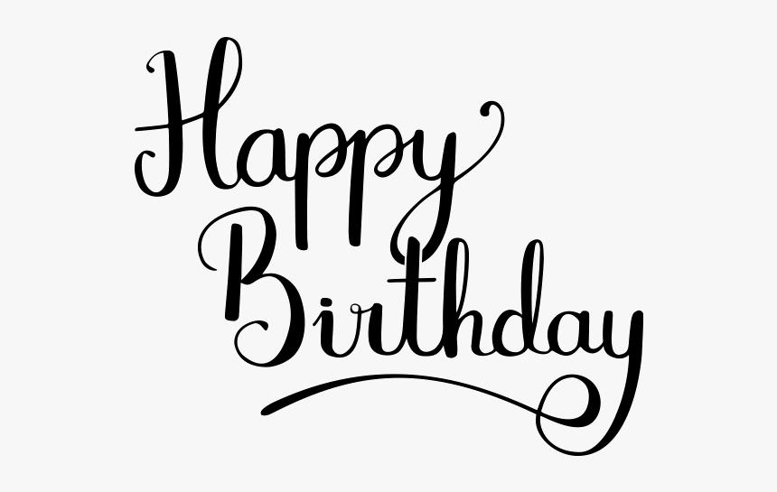 Fancy Happy Birthday Font Hd Png Download Transparent Png Image Pngitem