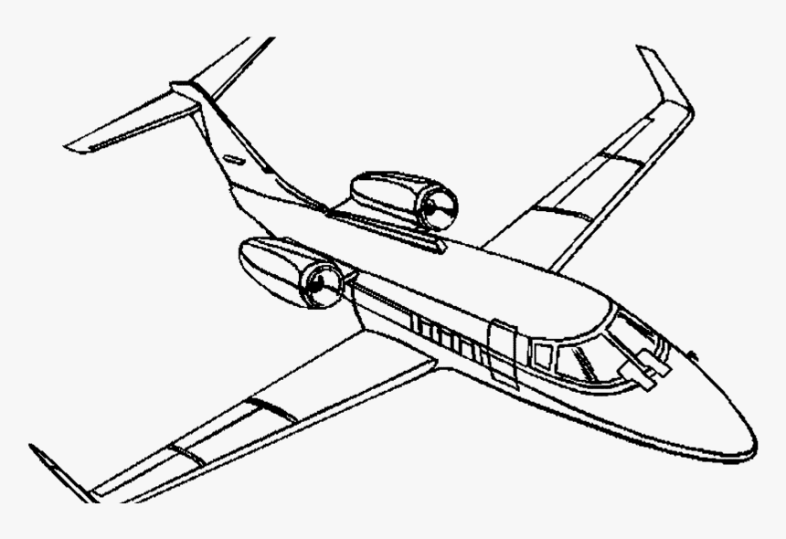 Airplanes Drawing Fighter Plane Private Jet Coloring Pages Hd Png Download Transparent Png Image Pngitem