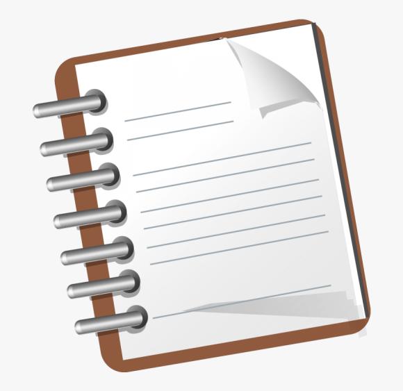 Notepad Png Notepad Clipart Transparent Background Png Download Transparent Png Image Pngitem