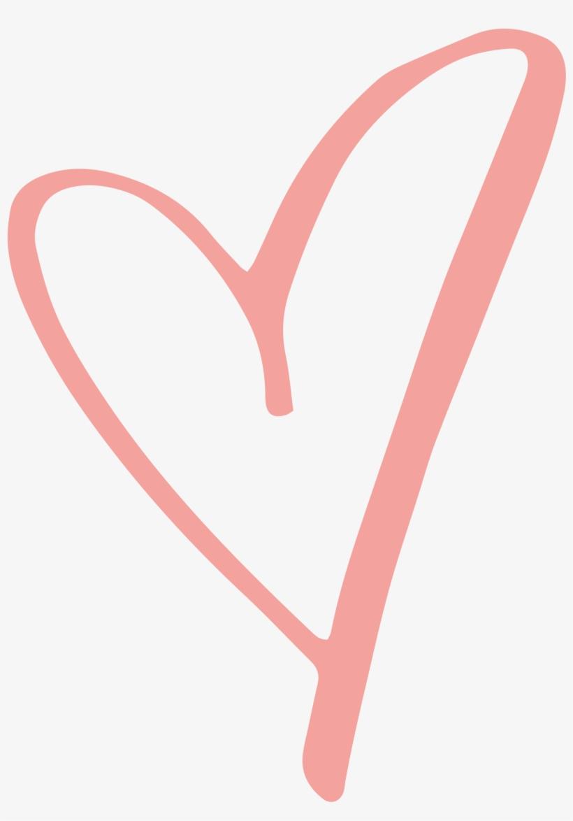Download Rustic Clipart Love Heart - Pink Heart Transparent ...