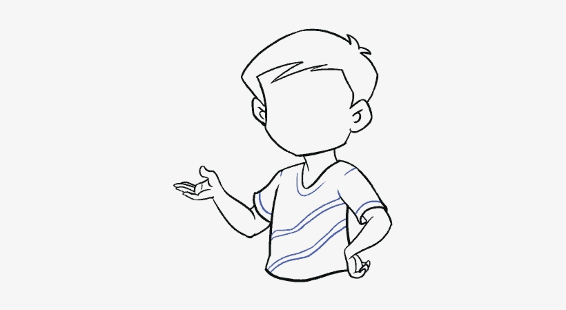 How To Draw Boy Boy Easy Drawing Free Transparent Png Download Pngkey