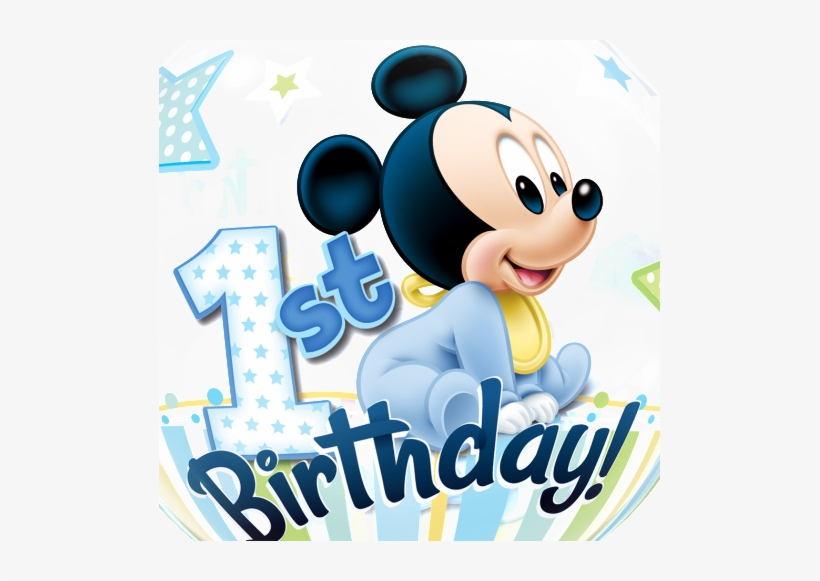 Balloon Svg Mickey Mickey Mouse 1st Birthday Free Transparent Png Download Pngkey