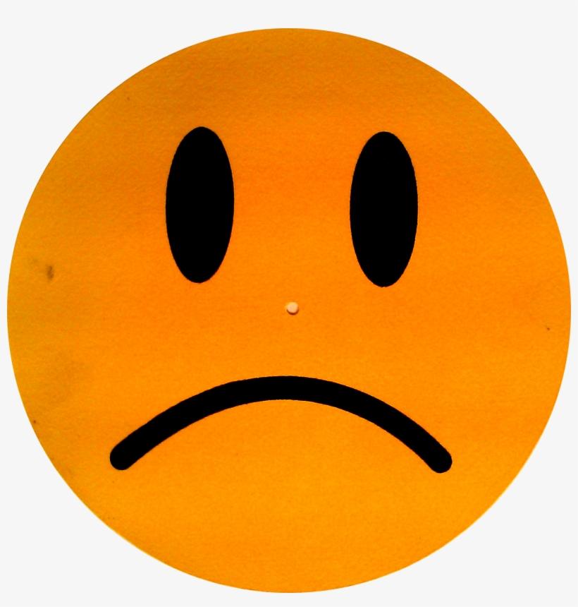Sad Face Orange Sad Face Clip Art Free Transparent Png Download Pngkey